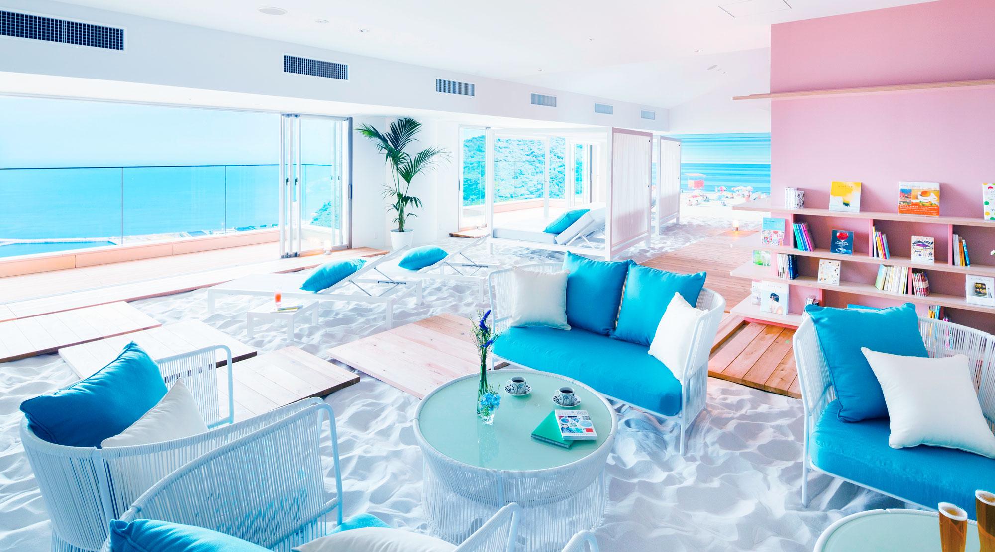 砂浜カフェ